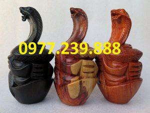 bán tượng rắn bằng hương
