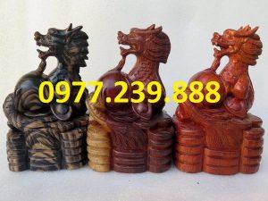 bán tượng rồng bằng gỗ