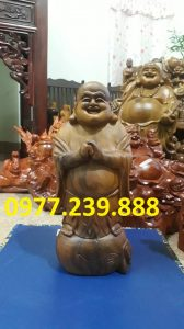 ban tuong phat chuc phuc bach xanh 30cm