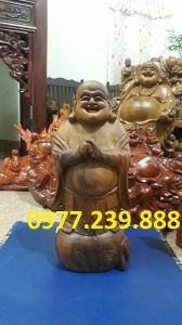 ban tuong phat chuc phuc bach xanh 40cm