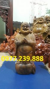 ban tuong phat chuc phuc bach xanh 60cm