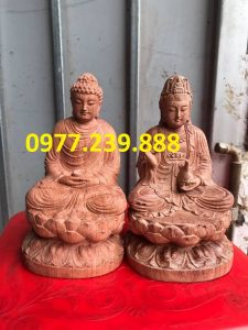 ban tuong phat thich ca go huong