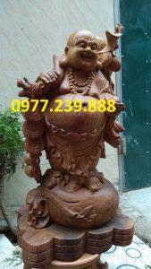 di lac ganh canh dao bang go huong 30cm