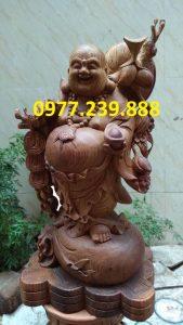 di lac ganh canh dao bang go huong 60cm