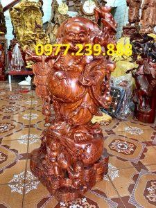di lac vac canh dao bang go huong 30cm