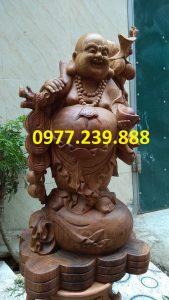 di lac vac canh dao bang go huong 70cm