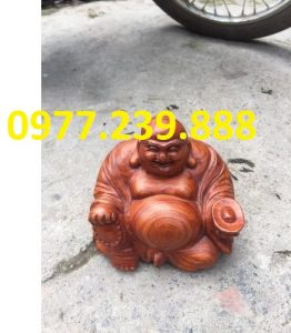phat di lac ngoi phong thuy go huong 20cm