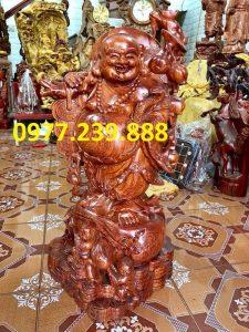 phat di lac vac canh dao bang go huong 30cm