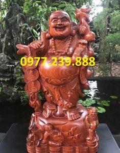 phat di lac vac canh dao bang go huong 40cm
