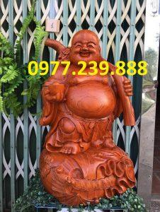 phat di lac vac canh dao bang go huong 50cm
