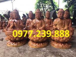 phat ong bang go huong 30cm