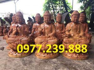phat ong bang go huong 40cm