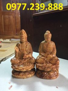 phat ong thich ca bang go huyet long 15cm