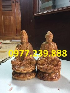 phat ong thich ca bang go huyet long 40cm