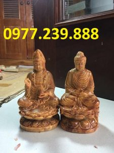 phat ong thich ca bang go huyet long 50cm
