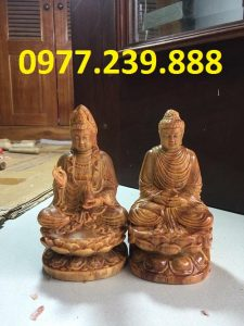 phat ong thich ca bang go huyet long 60cm