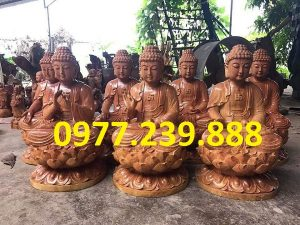 phat ong thich ca go huong 40cm