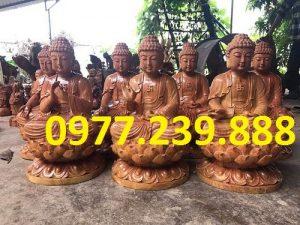 phat ong tuong go huong 30cm