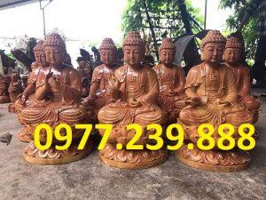 phat ong tuong go huong 40cm