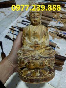 tượng ông adida bằng gỗ bách xanh