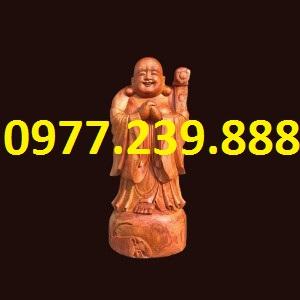 tượng chúc phúc gỗ hương 50cm