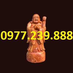 tượng chúc phúc gỗ hương cao 40cm