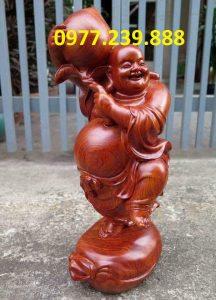 tượng di lặc vác đào bằng hương lào