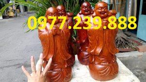 tượng phật chúc phúc bằng gỗ hương ta