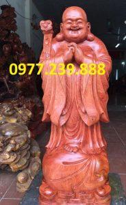 tượng phật chúc phúc bằng hương nam phi cao 30cm