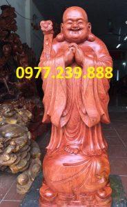 tượng phật chúc phúc bằng hương nam phi cao 50cm