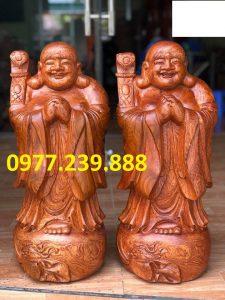 tượng phật chúc phúc gỗ hương nam phi
