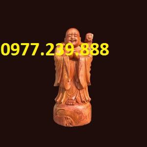 tượng phật chúc phúc gỗ hương