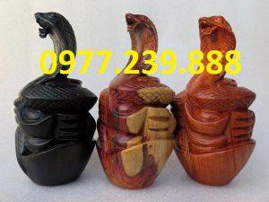 tượng rắn bằng hương 20cm