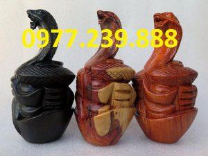 tượng rắn bằng hương cao 20cm