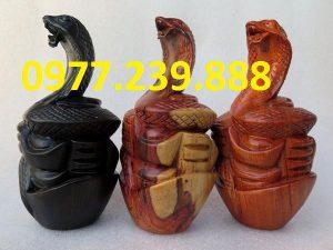 tượng rắn bằng hương giá rẻ