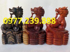 tượng rồng bằng gỗ
