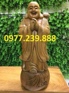 tuong chuc phuc bang go bach xanh 50cm