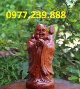 tuong chuc phuc go huong 40cm