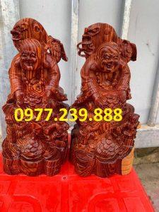 tuong di lac dang tien nhị phuc bang go huong nam phi