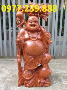 tuong di lac ganh dao cuoi ca chep bang huong 30cm