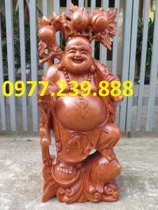 tuong di lac ganh dao cuoi ca chep bang huong 40cm
