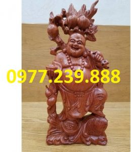 tuong di lac ganh dao go bang huong 40cm