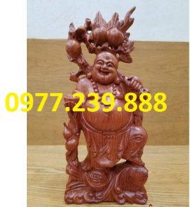 tuong di lac ganh dao go huong 30cm