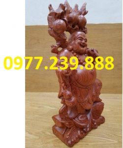 tuong di lac ganh dao go huong 40cm