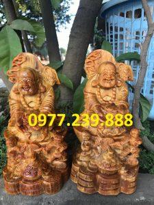 tuong di lac nhi phuc go huyet long 30cm