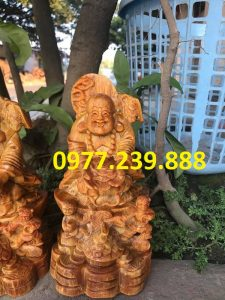 tuong di lac nhi phuc go huyet long 60cm