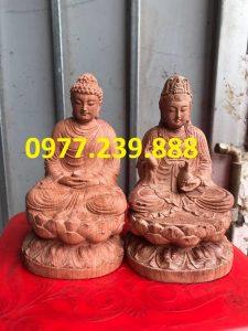 tuong phat adida go huong