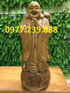 tuong phat chuc phuc bach xanh 30cm