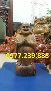 tuong phat chuc phuc bach xanh 40cm
