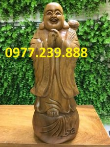 tuong phat chuc phuc bach xanh 50cm